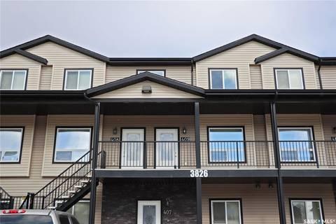 Townhouse for sale at 3826 Dewdney Ave E Unit 409 Regina Saskatchewan - MLS: SK806101