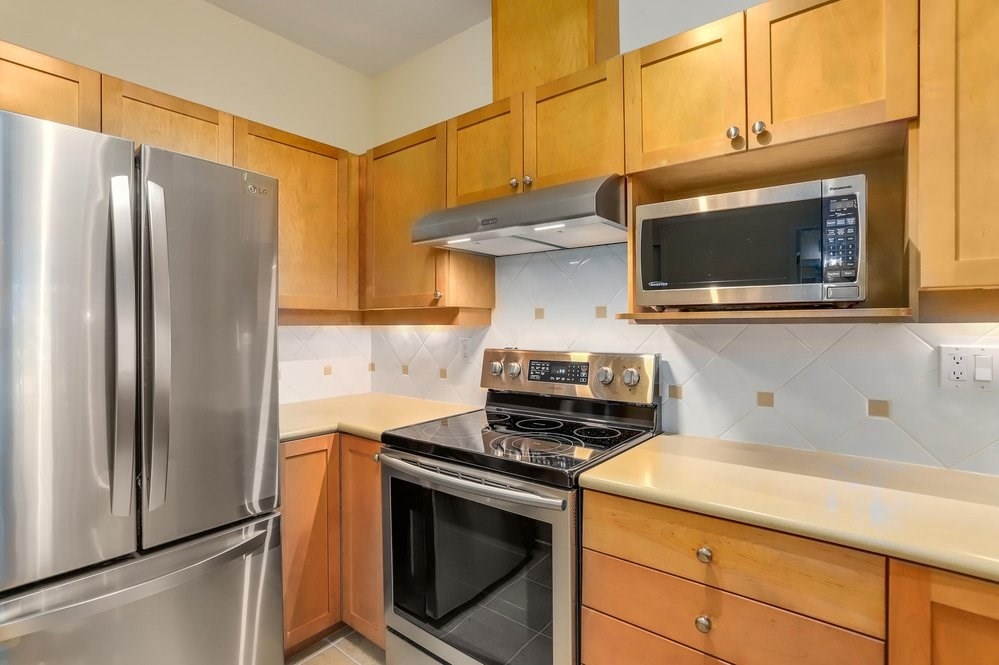 For Sale: 409 - 5605 Hampton Place, Vancouver, BC | 1 Bed, 1 Bath Condo for $605,000. See 19 photos!