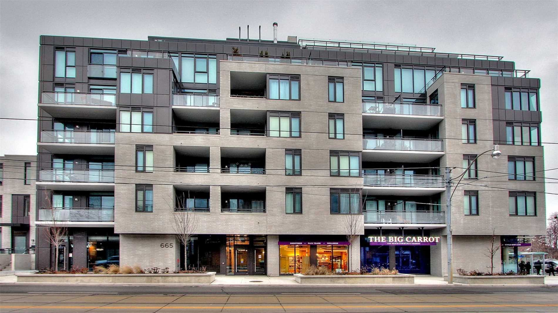 Buliding: 665 Kingston Road, Toronto, ON