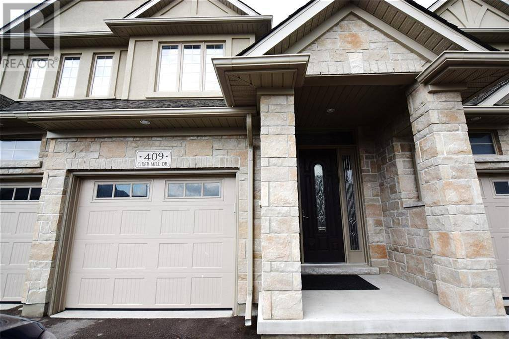 Townhouse for rent at 409 Cider Mill Dr Waterloo Ontario - MLS: 30804205