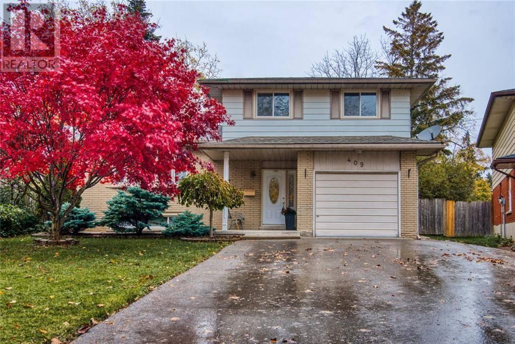 House for sale at 409 Grangewood Dr Waterloo Ontario - MLS: 30770130