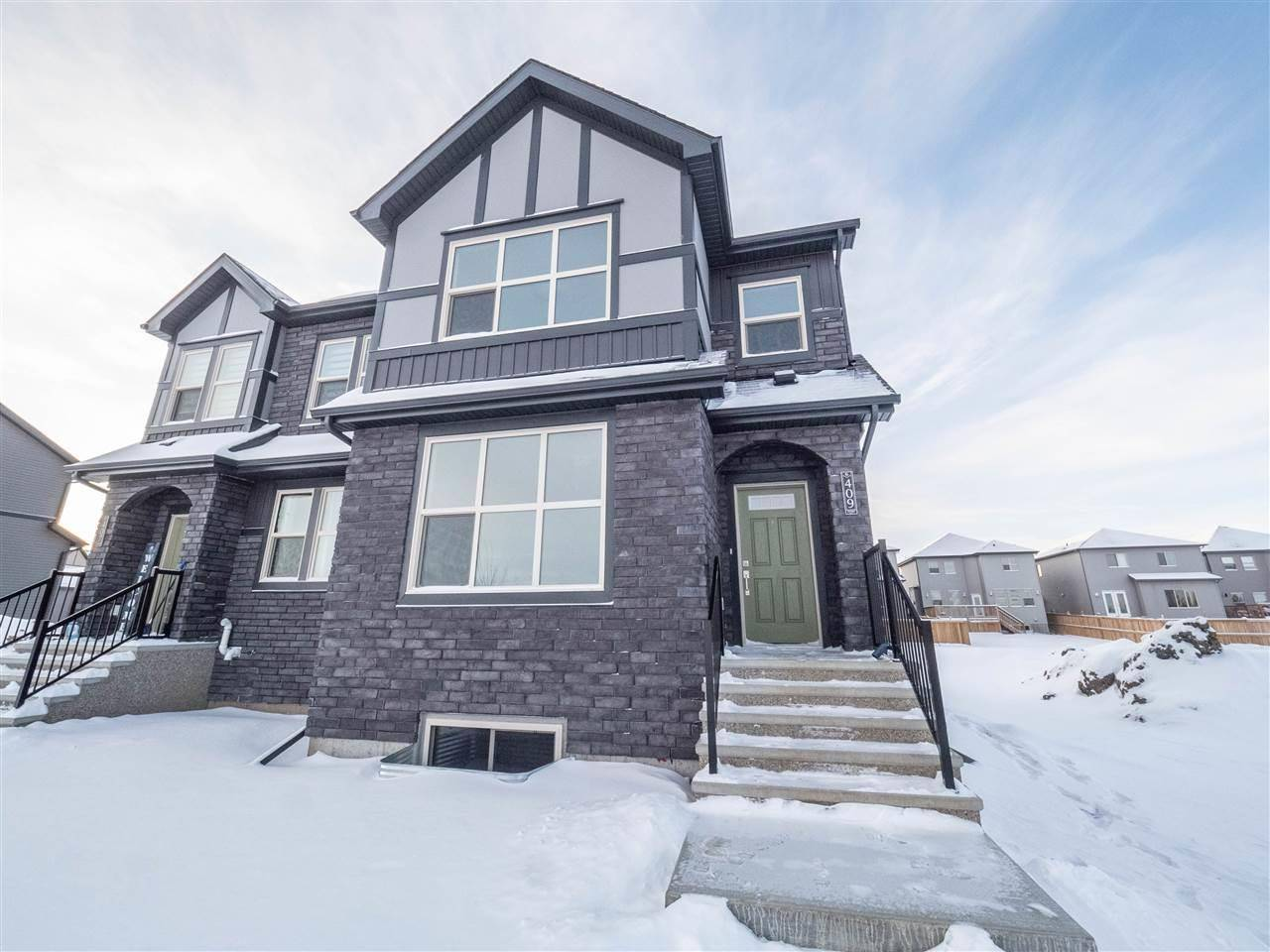 Townhouse for sale at 409 Pioneer Rd Spruce Grove Alberta - MLS: E4179901