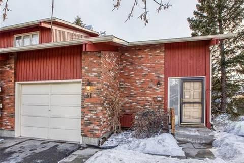 Townhouse for sale at 10001 Brookpark Blvd Southwest Unit 41 Calgary Alberta - MLS: C4292183