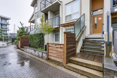 Townhouse for sale at 10133 River Dr Unit 41 Richmond British Columbia - MLS: R2383433