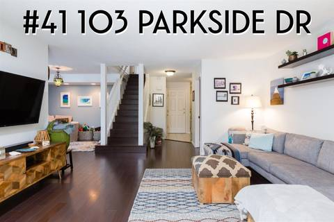 Townhouse for sale at 103 Parkside Dr Unit 41 Port Moody British Columbia - MLS: R2389734