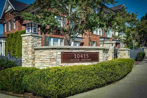Townhouse for sale at 10415 Delsom Cres Unit 41 Delta British Columbia - MLS: R2398180
