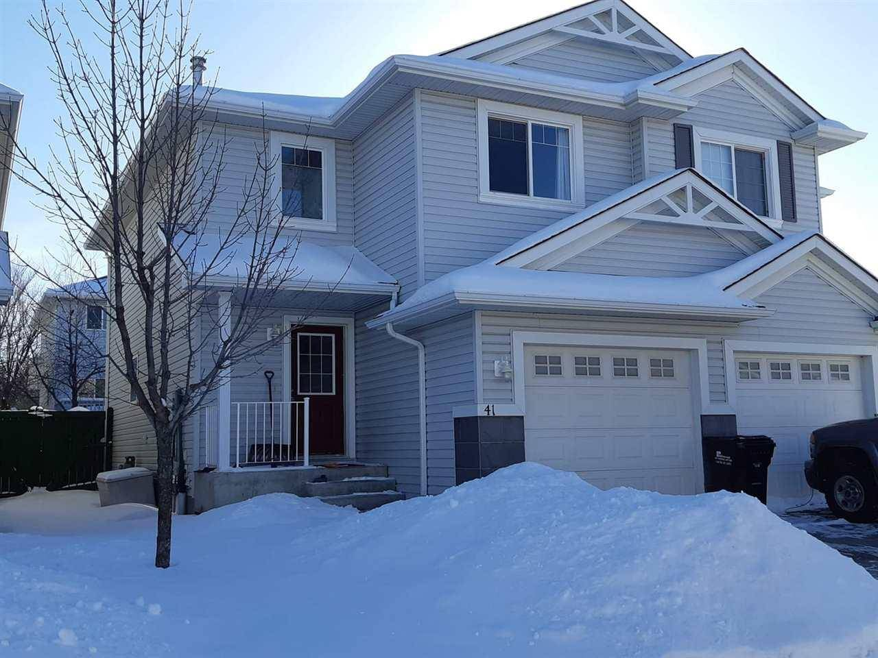 Townhouse for sale at 115 Chestermere Dr Unit 41- Sherwood Park Alberta - MLS: E4188063