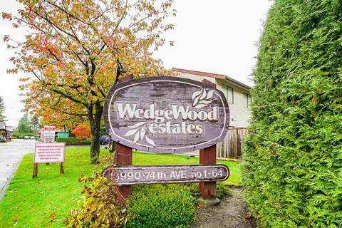 Townhouse for sale at 13990 74 Ave Unit 41 Surrey British Columbia - MLS: R2429372