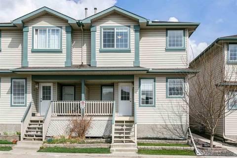 Townhouse for sale at 14803 Miller Blvd Nw Unit 41 Edmonton Alberta - MLS: E4152378