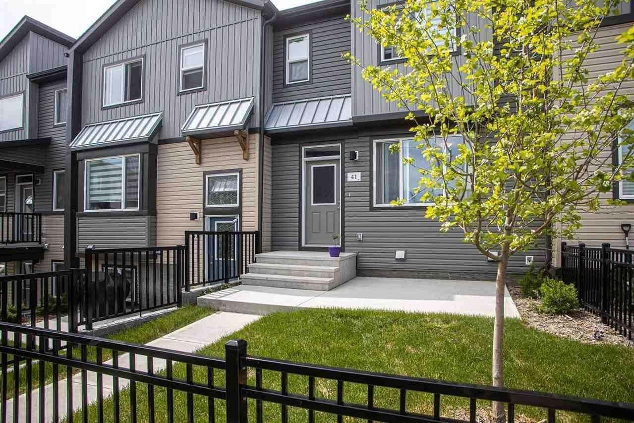 Townhouse for sale at 16903 68 St NW Unit 41 Edmonton Alberta - MLS: E4201766