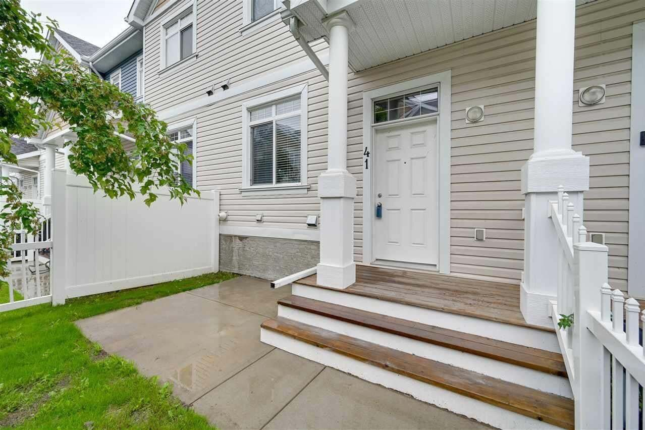 Townhouse for sale at 1804 70 St SW Unit 41 Edmonton Alberta - MLS: E4204971