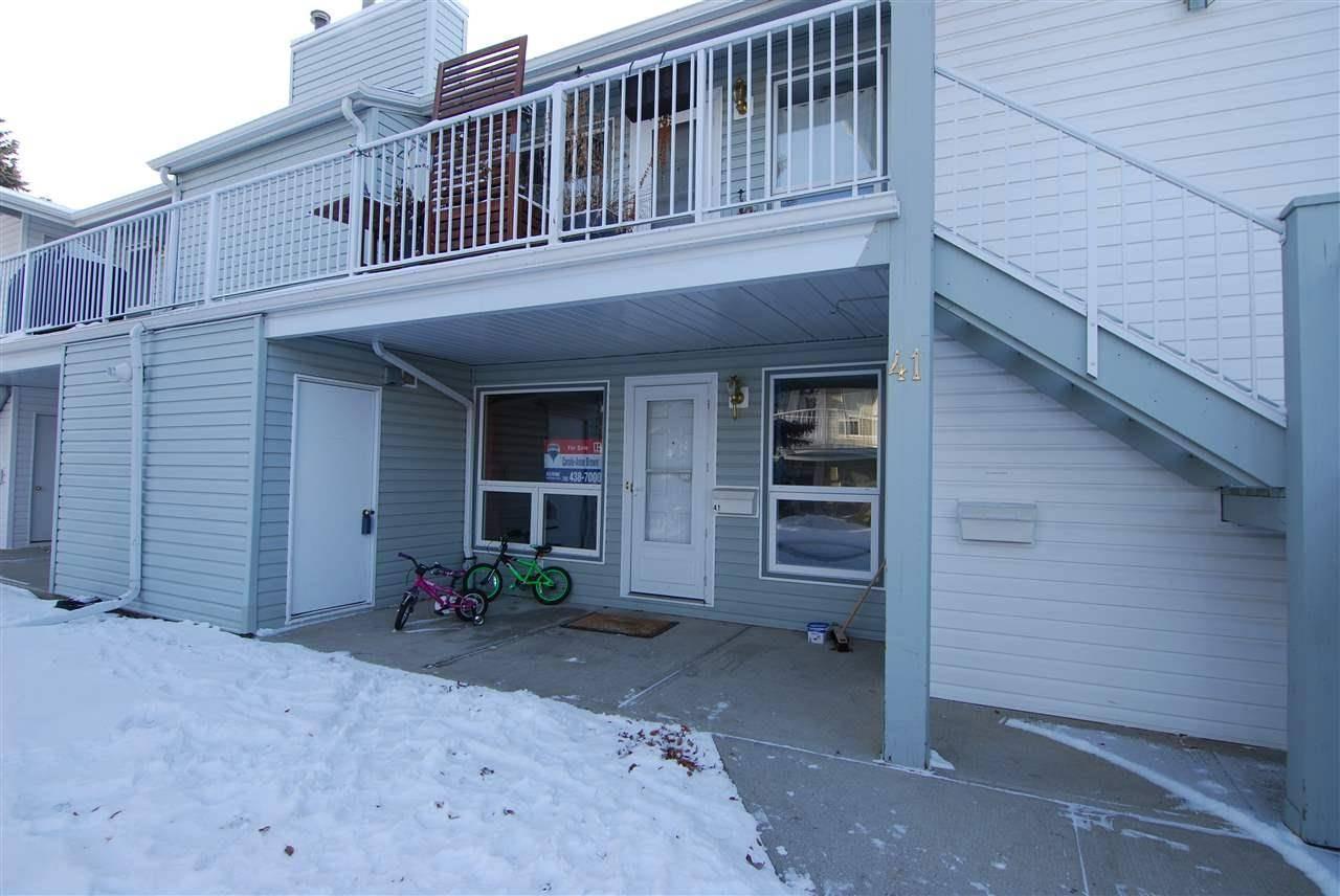 Townhouse for sale at 2115 118 St Nw Unit 41 Edmonton Alberta - MLS: E4184726
