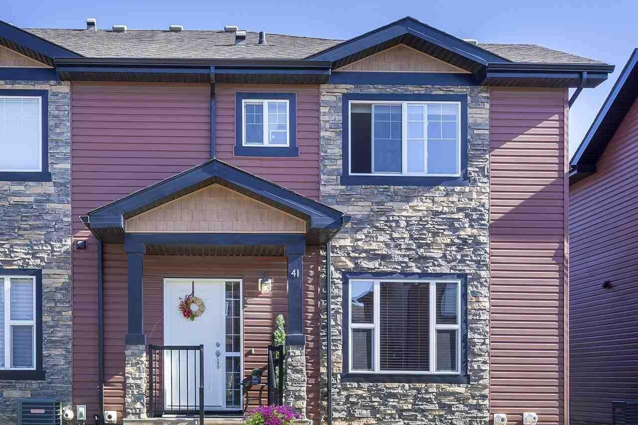 Townhouse for sale at 301 Palisades Wy Unit 41 Sherwood Park Alberta - MLS: E4216299