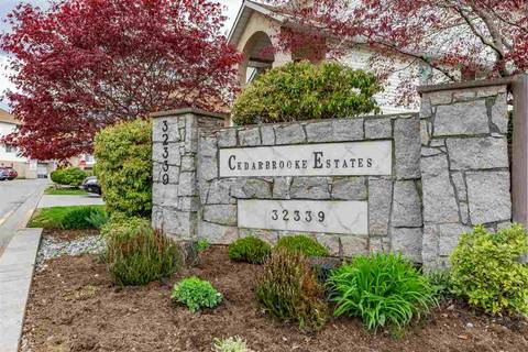 Townhouse for sale at 32339 7th Ave Unit 41 Mission British Columbia - MLS: R2360147