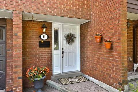 Condo for sale at 4230 Fieldgate Dr Unit 41 Mississauga Ontario - MLS: W4567058