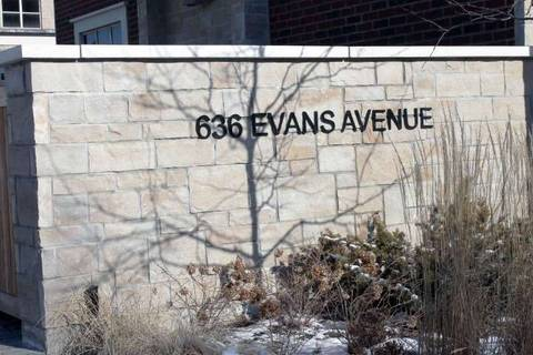 Condo for sale at 636 Evans Ave Unit 41 Toronto Ontario - MLS: W4693865