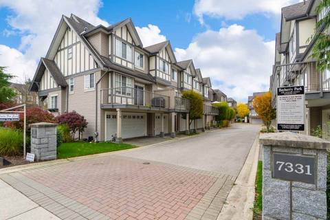 Townhouse for sale at 7331 Heather St Unit 41 Richmond British Columbia - MLS: R2434243