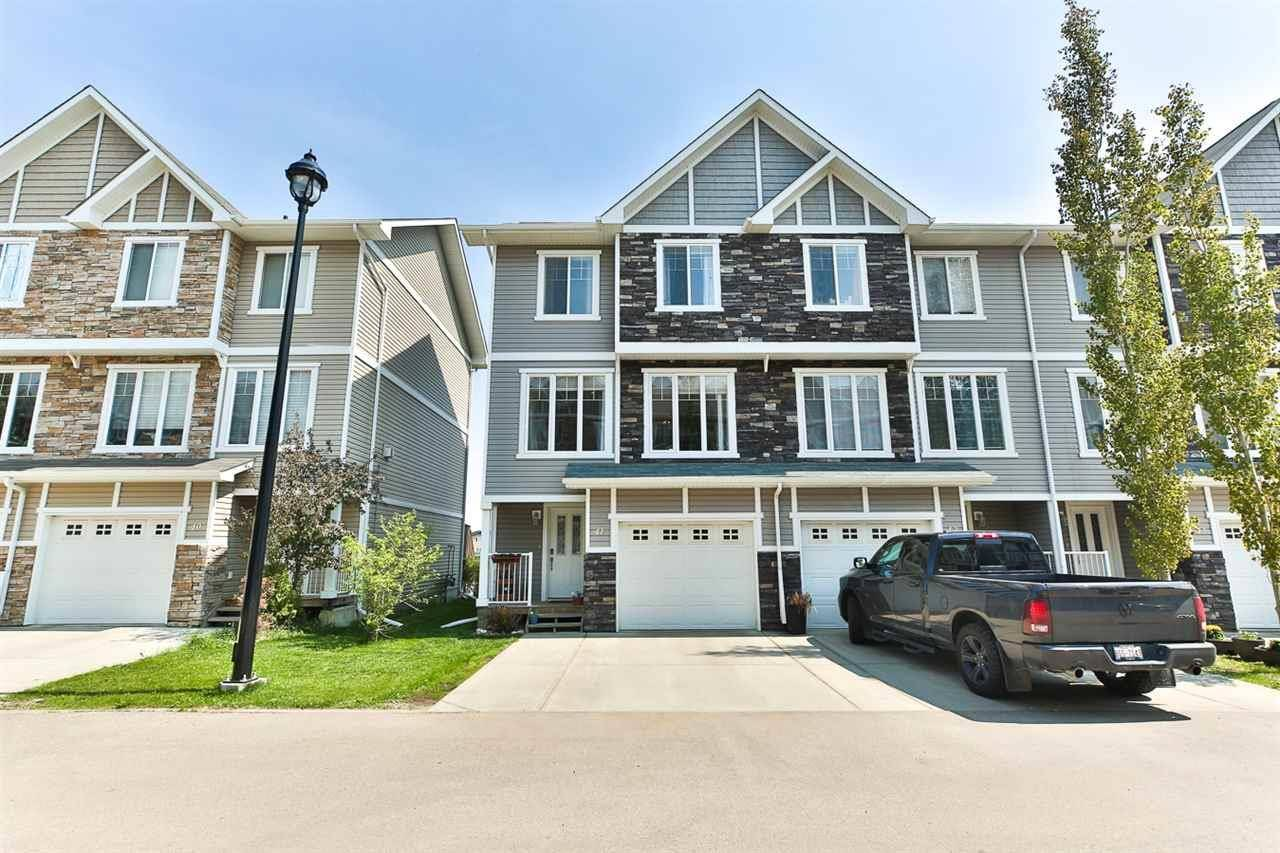 Townhouse for sale at 9904 101 Ave Unit 41 Morinville Alberta - MLS: E4185819