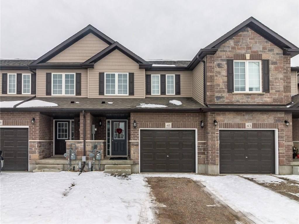 Townhouse for sale at 41 Arlington Pw Paris Ontario - MLS: H4072450