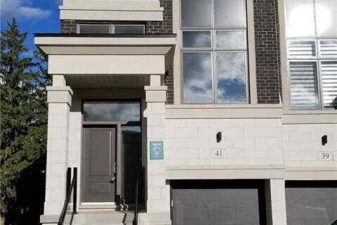 Townhouse for rent at 41 Armillo Pl Markham Ontario - MLS: N4952034