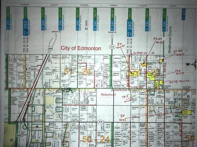 Residential property for sale at  41 Ave South Rural Leduc County Alberta - MLS: E4168693