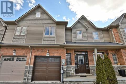 Townhouse for sale at 41 Bankfield Cres Stoney Creek Ontario - MLS: 30719130