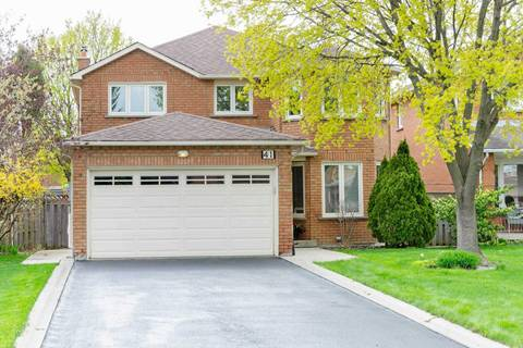 House for sale at 41 Bella Vista Ct Vaughan Ontario - MLS: N4450556