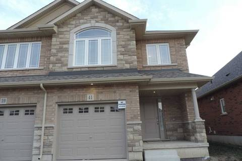 Townhouse for rent at 41 Bethune Ave Hamilton Ontario - MLS: X4550986