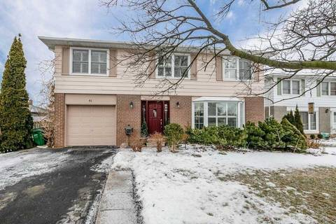 House for sale at 41 Caldwell Cres Brampton Ontario - MLS: W4363990