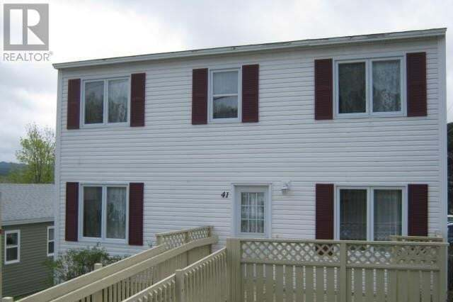 House for sale at 41 Country Rd Corner Brook Newfoundland - MLS: 1214510
