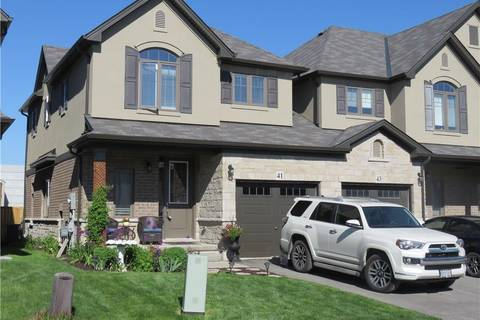 Townhouse for sale at 41 Dodman Cres Ancaster Ontario - MLS: H4055816