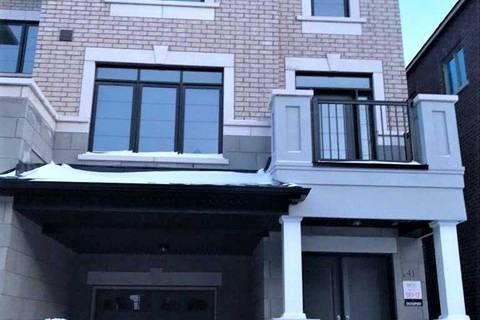 Townhouse for rent at 41 Fruitvale Circ Brampton Ontario - MLS: W4729955