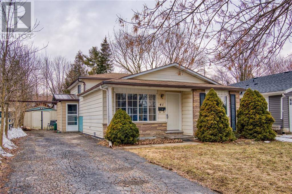 House for sale at 41 Helene Cres Waterloo Ontario - MLS: 30796077