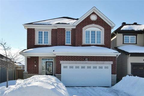 House for sale at 41 Knockaderry Cres Ottawa Ontario - MLS: 1141694