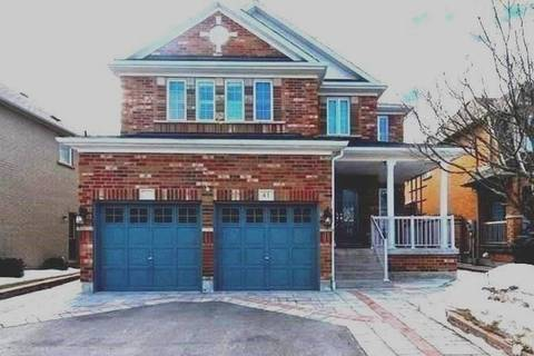 House for sale at 41 Lafayette Blvd Whitby Ontario - MLS: E4373739