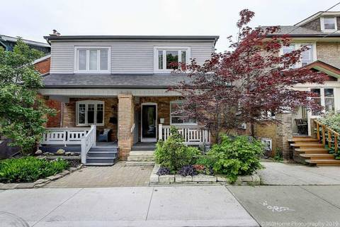 Townhouse for sale at 41 Macgregor Ave Toronto Ontario - MLS: W4494667