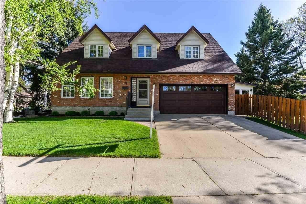 House for sale at 41 Pineridge Cr St. Albert Alberta - MLS: E4190864