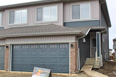 Townhouse for sale at 41 Robin Wy St. Albert Alberta - MLS: E4150641