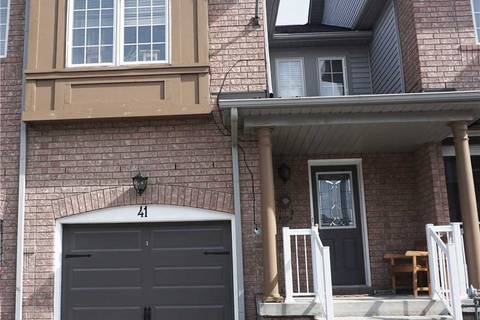 Townhouse for sale at 41 Tasker Cres Ajax Ontario - MLS: E4413931
