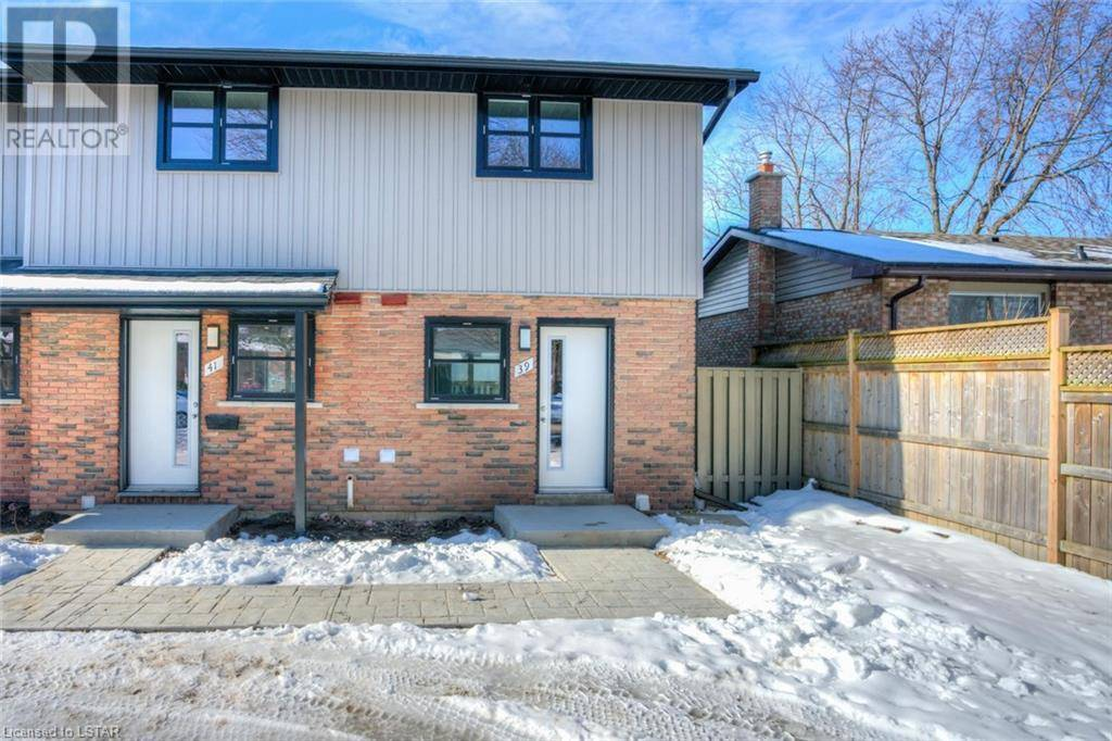House for sale at 41 Toulon Cres London Ontario - MLS: 246203