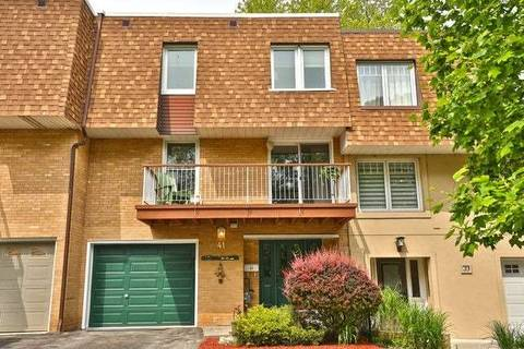 Townhouse for sale at 41 Tulip St Oakville Ontario - MLS: W4493284