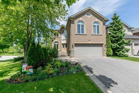 House for sale at 41 Verona Ct Richmond Hill Ontario - MLS: N4487449
