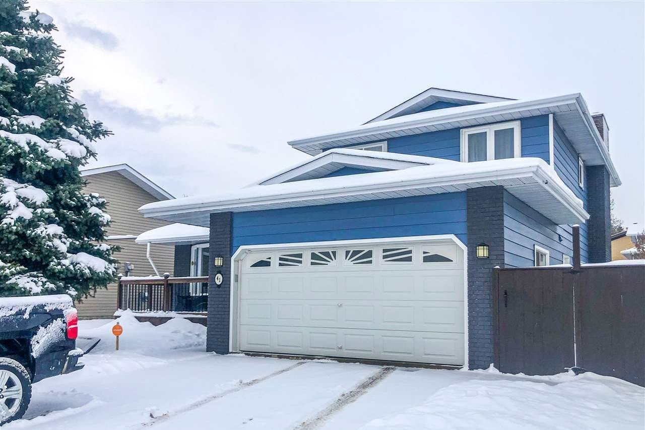 House for sale at 41 Woodstock Dr Sherwood Park Alberta - MLS: E4217863