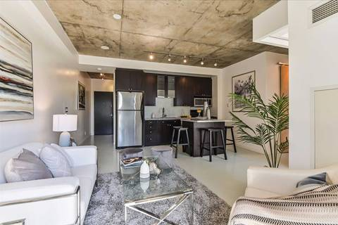 Condo for sale at 1 Shaw St Unit 410 Toronto Ontario - MLS: C4602806
