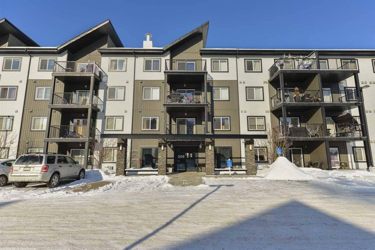 Condo for sale at 508 Albany Wy Nw Unit 410 Edmonton Alberta - MLS: E4187908
