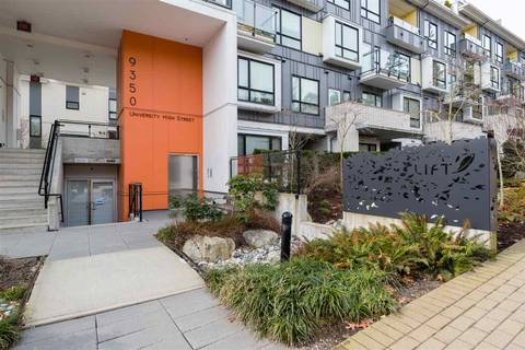 Townhouse for sale at 9350 University High St Unit 410 Burnaby British Columbia - MLS: R2449272