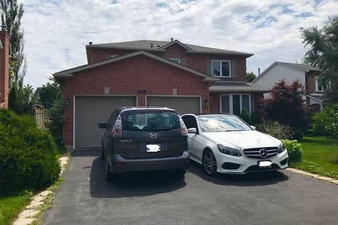 House for rent at 410 River Oaks Blvd Oakville Ontario - MLS: W4389225