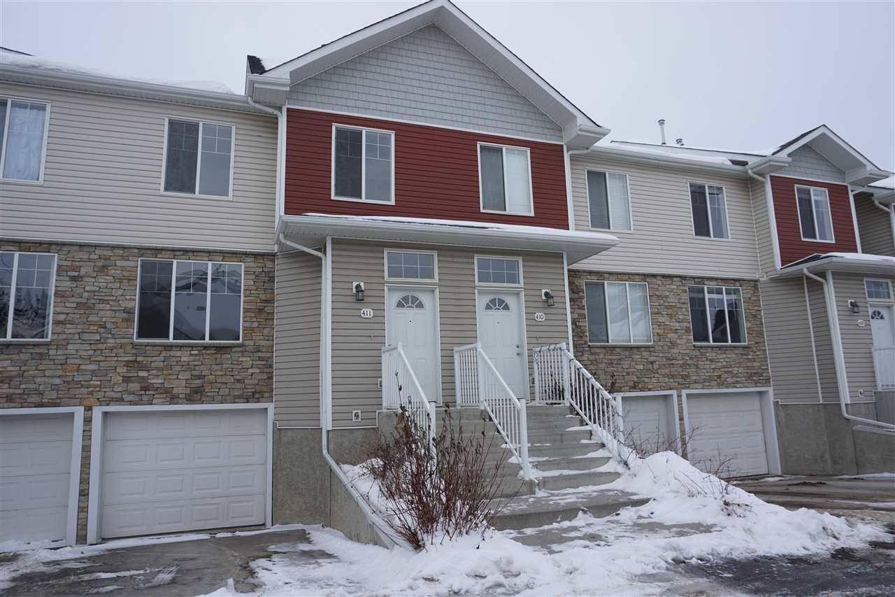Townhouse for sale at 178 Bridgeport Blvd Unit 411 Leduc Alberta - MLS: E4187850