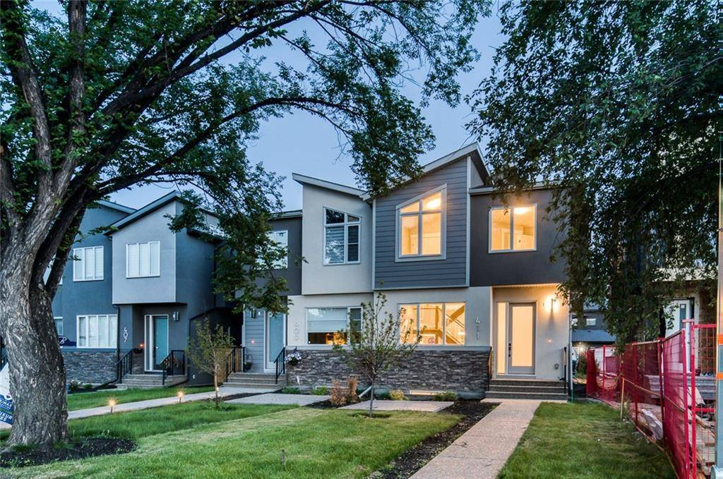 Townhouse for sale at 411 24 Ave Nw Mount Pleasant, Calgary Alberta - MLS: C4221455