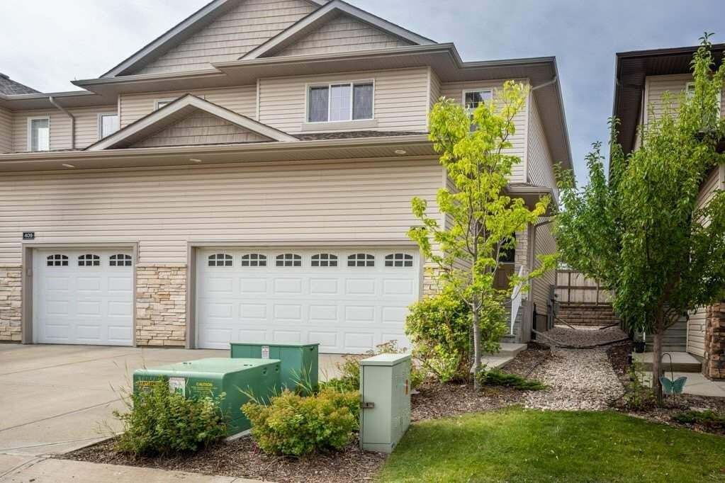Townhouse for sale at 41 Summerwood Bv Unit 411 Sherwood Park Alberta - MLS: E4210509